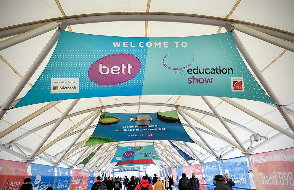 BETT 2019 Entrance