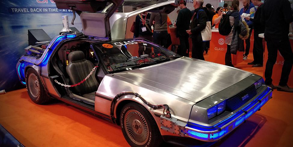ClassVR DeLorean