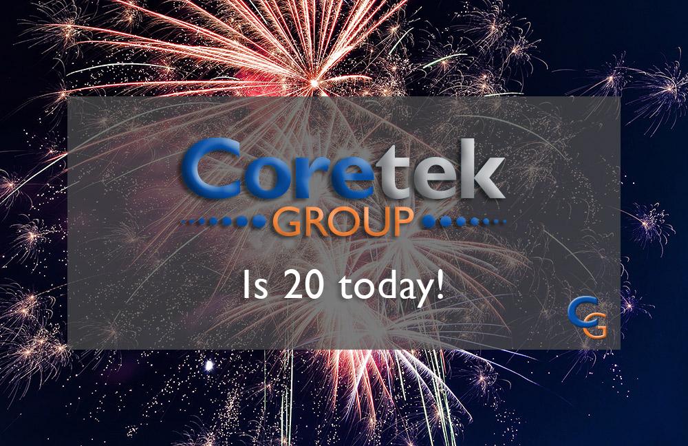 Coretek is 20 today