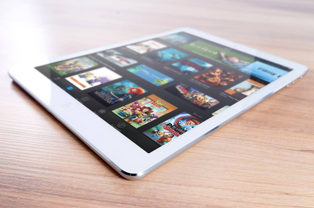 iPad with Apps