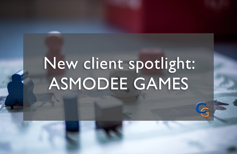 New Client Spotlight Asmodee Games